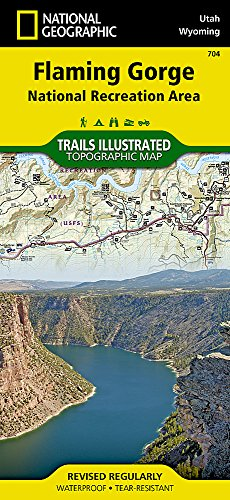 (Flaming Gorge National Recreation Area (National Geographic Trails Illustrated Map))