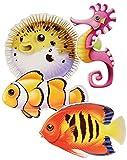 Under The Sea Fish Cutouts   (4/Pkg)