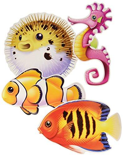 (Under The Sea Fish Cutouts  )