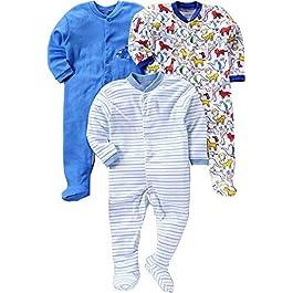 Baby Station Unisex Long Sleeve Cotton Sleep Suit