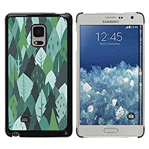Paccase / SLIM PC / Aliminium Casa Carcasa Funda Case Cover para - Trees Forest Nature Green Drawing Summer - Samsung Galaxy Mega 5.8 9150 9152