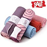 Hot Yoga Towel - Quick Drying, Non Slip, Sweat Absorbing Hot Yoga and Bikram Towel
