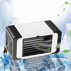 CAOQAO Mini Aire Acondicionado portátil Refrigerador Mudo del ...
