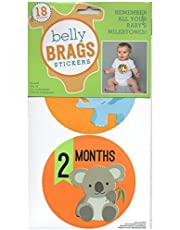 Belly Brags Baby Milestone Stickers, Gender Neutral by Belly Brags