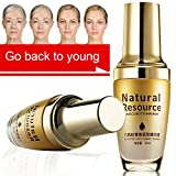 Anti Aging Serum, Anti-Wrinkle Serums, Facial Serum 100% Hyaluronic Acid Serum for Face Helps Reduce Appearance of Wrinkles and Fine Lines, Intense Hydration + Moisturizer, Non-greasy 2PC (1)