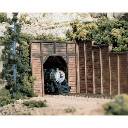 Woodland Scenics C1254 Timber Single Tunnel Portal by Woodland Scenics