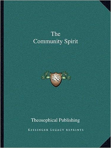 Book The Community Spirit