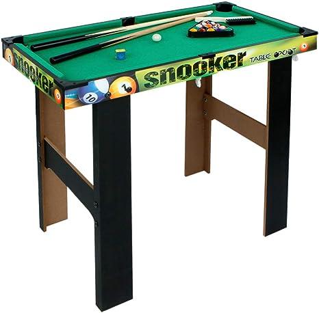 COLORBABY - Billar de Madera Snooker (85326): Amazon.es: Juguetes y juegos
