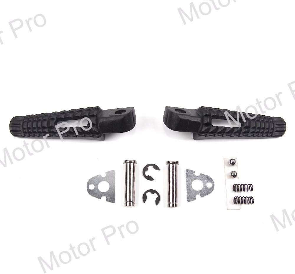 Color: Black Frames /& Fittings Rear Footrests for Suzuki GSXR 600 750 2006 2007 Motorcycle Passenger Foot Pegs Pedal Brackets GSXR600 GSXR700 GSX-R GSX R 06 07