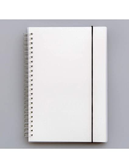 ZLJHH Pp Cover Grid/Blanl/Dot/Line Notebook Planage Vendaje ...