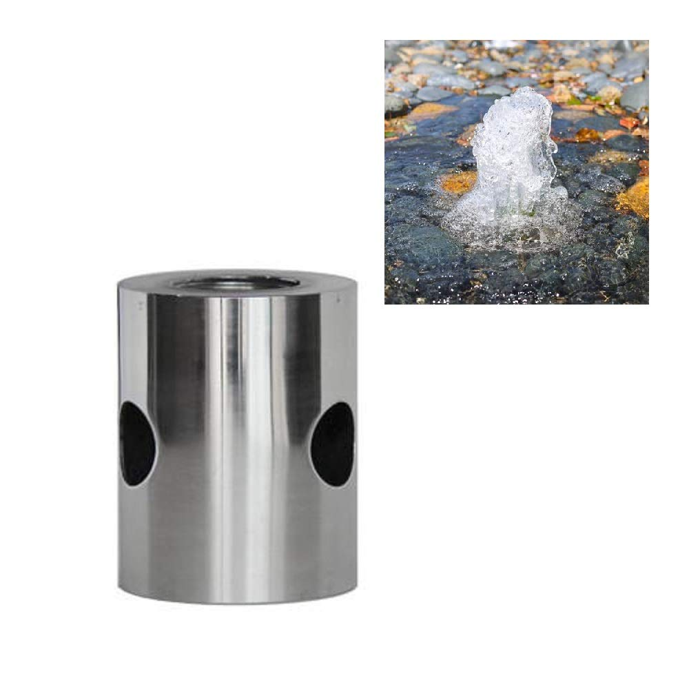 NAVAdeal 1'' DN25 Stainless Steel Cup Bubble Water Fountain Nozzle Spray Pond Sprinkler Head by NAVA