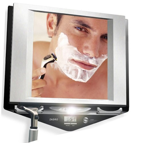 Zadro Led Lighted Shower Mirror - 4