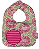 Baby Bib in angelfish Paisley by Button