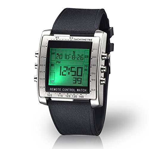 Digital Image Control - Famous Trails Sharper Image Control Freak Digital Remote Control Watch