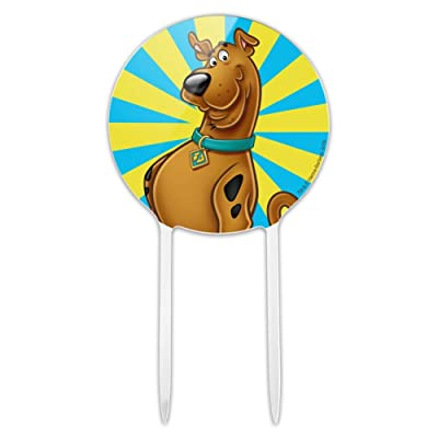 GRAPHICS & MORE Acrylic Scooby-Doo Character Cake Topper Party Decoration for Wedding Anniversary Birthday Graduation: Kitchen & Dining [5Bkhe0806961]