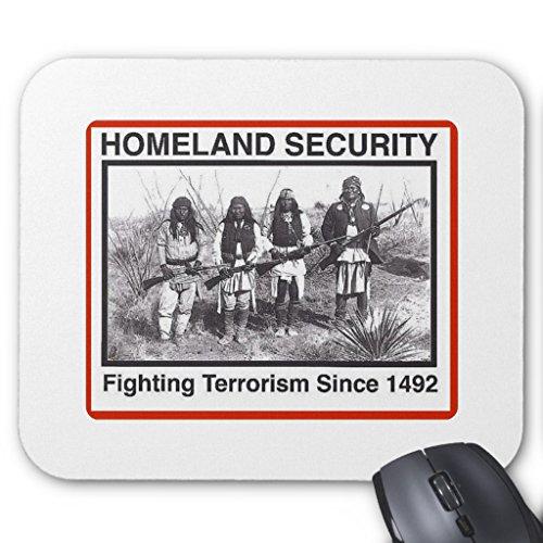 Price comparison product image Zazzle Native American Original Homeland Security Mouse Pad