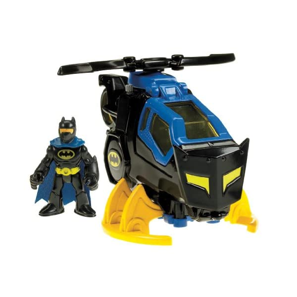 51LlpbwY9WL. SS600  - Fisher-Price Imaginext DC Super Friends, Batcopter [Amazon Exclusive]