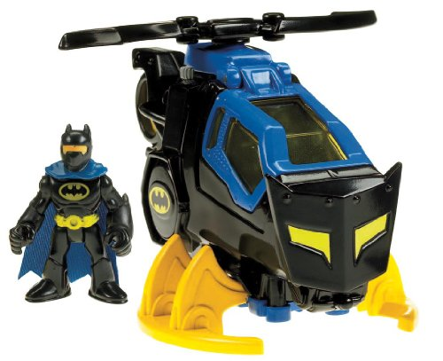 Fisher-Price Imaginext DC Super Friends, Batcopter [Amazon Exclusive] (Best Batman Toy For 3 Year Old)