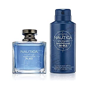 Nautica Voyage N83 2pc set - 1.7oz Eau de Toilette + 4.0oz Body Mist