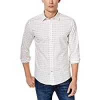 tommy hilfiger para hombre custom-fit Star- Set Camisa,