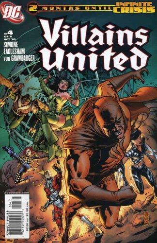 (Villains United #4 VF/NM ; DC comic book)