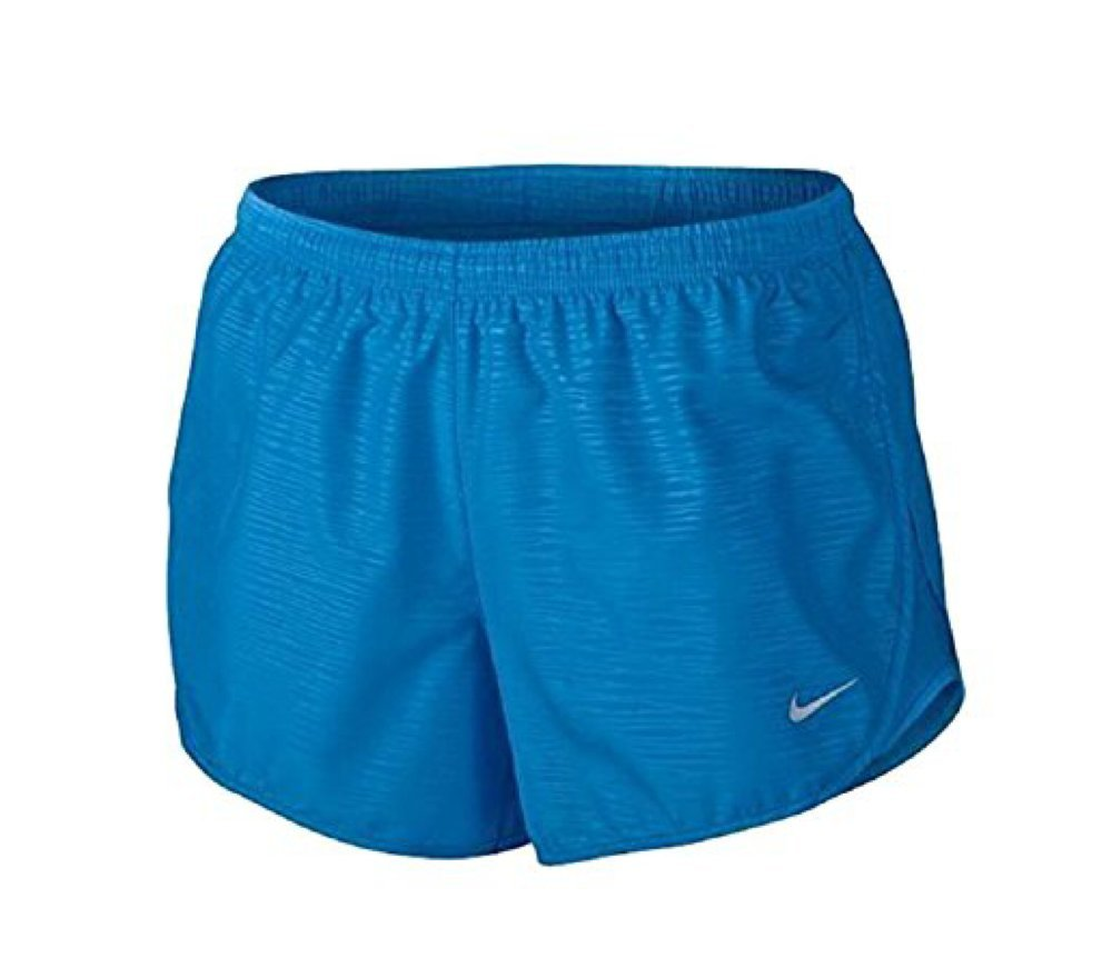 Nike Modern Embossed Tempo Running Shorts, Gym Blue Size XS