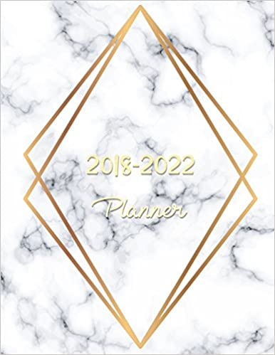 2018 - 2022 Planner: Agenda Planner For The Next Five Years ...