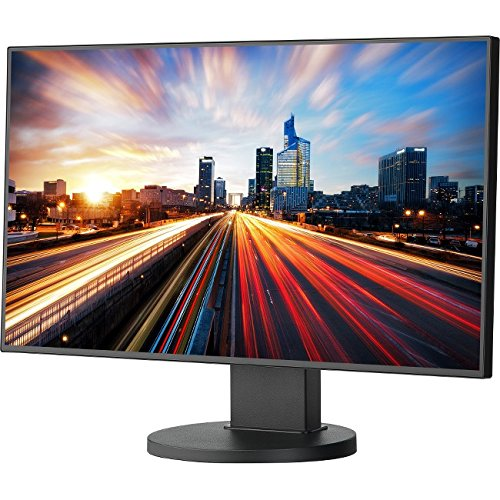 NEC EX241UN-BK 24 Widescreen Full Hd Monitor With 4-sided Ultra-narrow Bezel And Ips Panel (Bezel Narrow Ultra)
