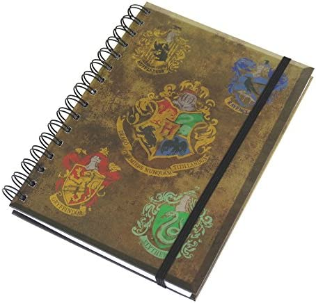 HARRY POTTER Notizbuch mit Hogwarts-Wappen