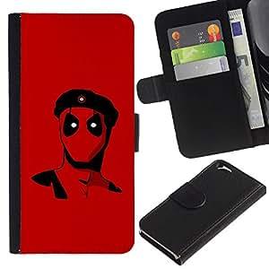 UNIQCASE - Apple Iphone 6 4.7 - Rebel Superhero - Cuero PU Delgado caso cubierta Shell Armor Funda Case Cover