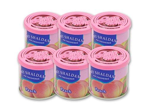 My Shaldan Air Freshener Peach Scent (D41AP) - Quantity 6 Cans by My Shaldan Air Freshener