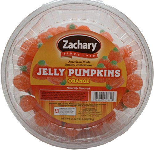 Zachary Jelly Pumpkins Orange Candy, 24 Ounce