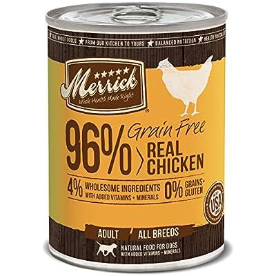 Merrick Grain Free Wet Dog Food, 13.2 oz, 12 count