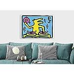 Keith-Haring-DJ-Dog-Canvas-Wall-Art-Framed-Print-Various-Sizes-A3-16×12-inches-Import-Reviews-Reviews-pluginProduct-customization-Reviews-Reviews-Regular-Price-Sale-Price-Set-Formula-custom-Title-Sku-