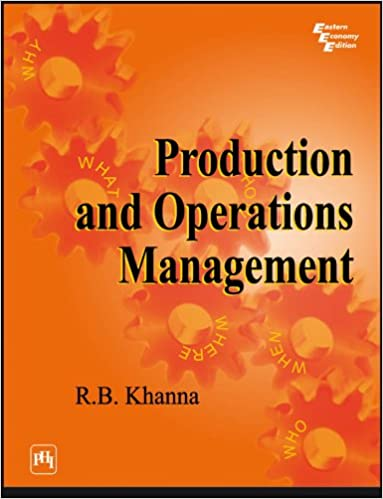 Production Operations Management Ebook