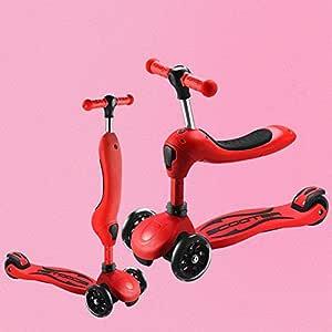 WEM Patada plegable para niños Scooter-Patada Patada de absorción ...