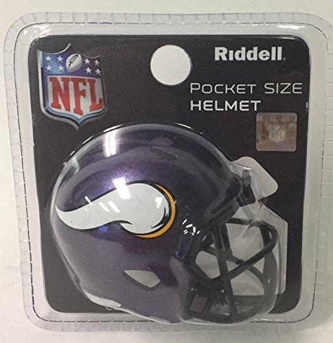 (Minnesota Vikings Riddell Speed Pocket Pro Football Helmet - New in package)
