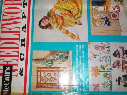 Mccall's Needlework & Crafts 1971-1972 Fall-winter
