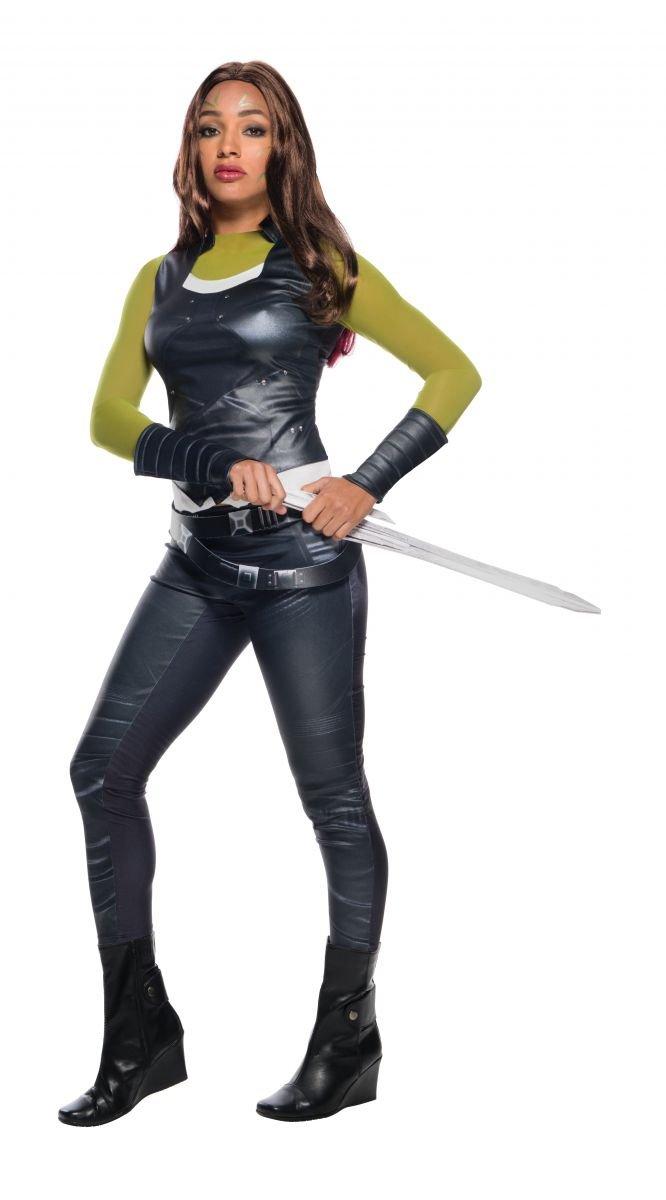 Guardians of Galaxy the Galaxy of Gamora-Damenkostüm schwarz-grün M fb22ed
