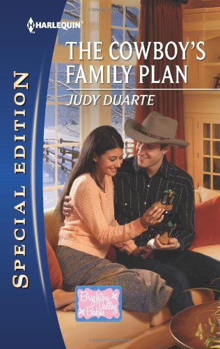 book cover of The Cowboy\'s Family Plan