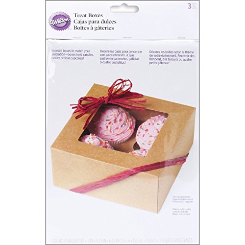y Cupcake Boxes, 3 Count ()