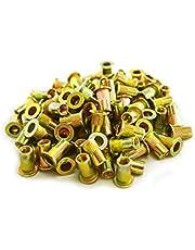 Astro Pneumatic Tool RN5M M5 5mm Steel Rivet Nuts, 100 Piece