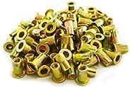 Astro Pneumatic Tool RN5M 100 peças M5 5 porcas de rebite de aço