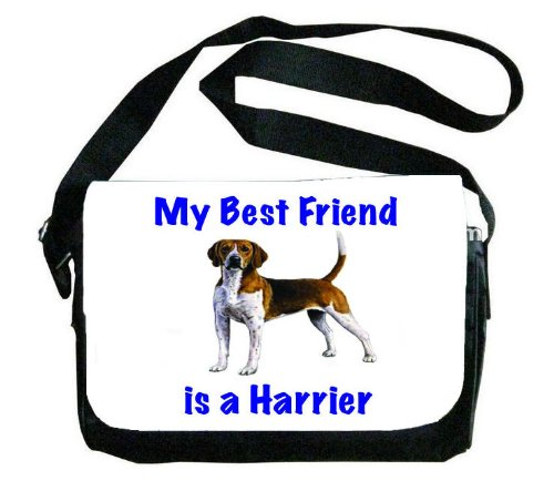 My Best Friend is Harrier Messenger Bag