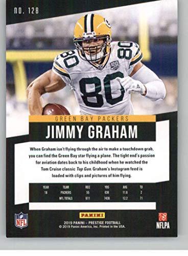 Amazon.com: 2019 Prestige Football #128 Jimmy Graham Green ...