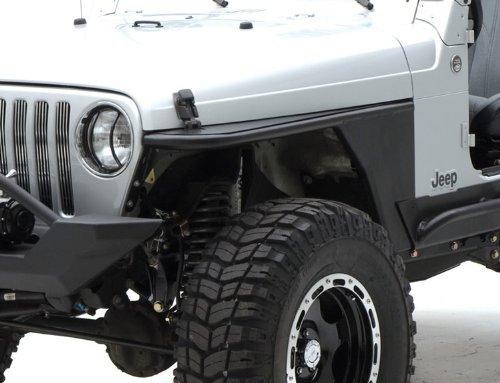 Amazon Com Smittybilt 76872 Jeep Wrangler Xrc Tube Fenders Tj