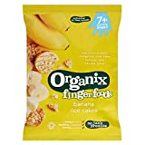 Organix Finger Foods Banana Rice Cakes 7+ Months Stage 2 50G - Pack of 2