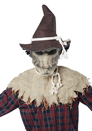 Scary Men Halloween Costumes (California Costumes Men's Sadistic Scarecrow Costume, Brown, Large/X-Large)