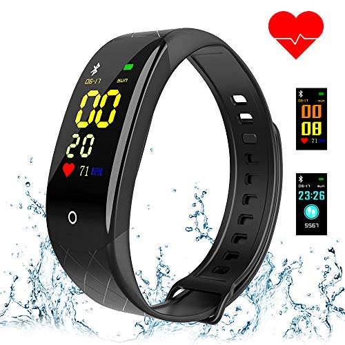 - Coolhills Fitness Tracker HR, IP67 Waterproof Activity Tracker Pedometer Watch with Heart Rate & Sleep Monitor,Step Counter,Calories Burned Smart Bracelet for Men,Women