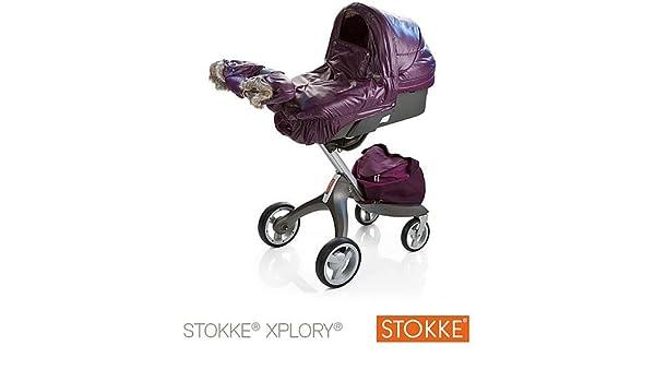 Kit de invierno para silla de paseo Stokke Xplory morado morado: Amazon.es: Bebé